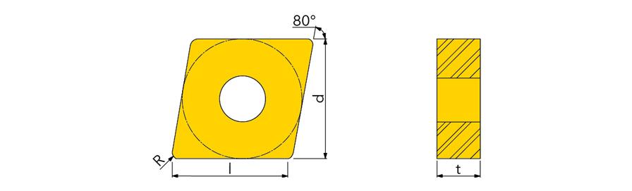 CNMG432 MP 120408MP  TT5080
